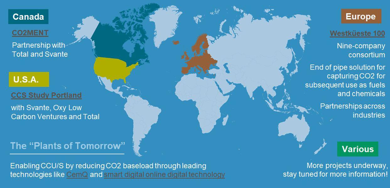 LafargeHolcim carbon capture to tackle emission