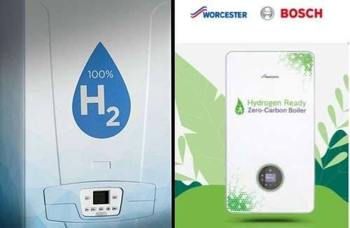Worcester Bosch and BDR Thermea are developing hydrogen ready boilers
