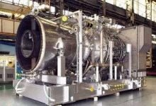 Ammonia fired gas turbine
