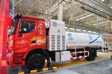 Chinese automaker launches fuel cell truck