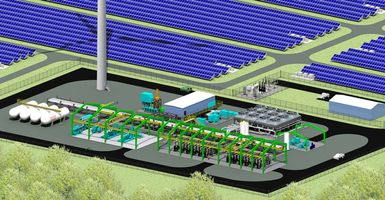 McDermott and New Energy engineering green hydrogen plant