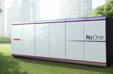 Toshiba hydrogen supply chain model in Tsuruga City