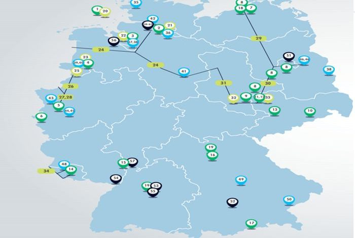 Germany announces €8 Billion for 62 hydrogen projects