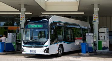 Hyundai Elec City Fuel Cell Bus starts trails in Germany