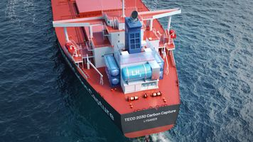 Teco and Chart to develop marine carbon capture and storage solutions