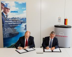 Andritz Hydro and MAN Energy Solutions agree on hydrogen cooperation
