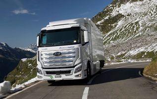 Hyundai Xcient fuel cell trucks fleet exceed 1 million km of driving in Switzerland