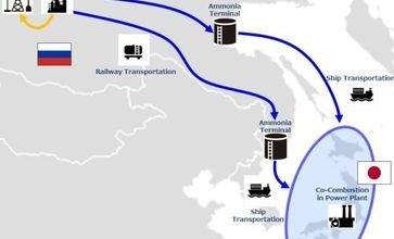 Jogmec, IOC, Toyo and Itochuto to explore ammonia value chain between Siberia and Japan