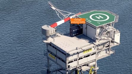 Netherlands funds PosHYdon's offshore wind to green hydrogen project