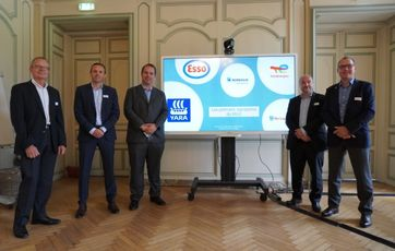 Air Liquide, Borealis, Esso, TotalEnergies and Yara partner for decarbonising the industrial basin of Normandy, France