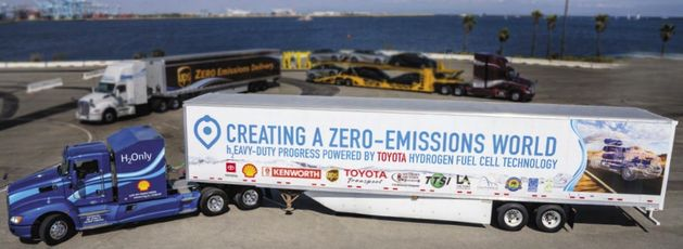 California Fuel Cell Partnership foresees 70k hydrogen power trucks and 200 stations by 2035
