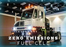 Capacity Trucks builds hydrogen fuel cell electric hybrid truck