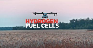 Honeywell hydrogen fuel cells increase drones flight time