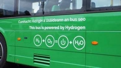 Ireland tests hydrogen buses in the transport fleet