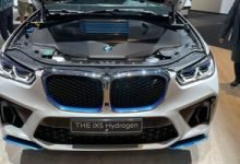 BMW debuts iX5 hydrogen fuel cell SUV