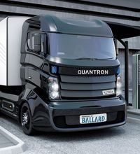 Ballard and Quantron partner to develop hydrogen fuel cell electric trucks