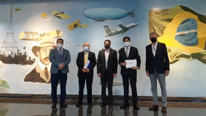 Cegas, Dcta, Embraer, ITA, UFC discuss green hydrogen in the Brazil aviation sector