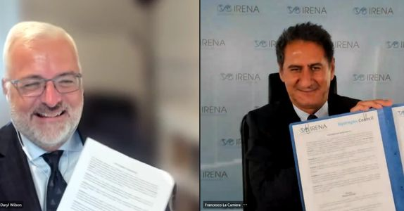 Irena and Hydrogen Council to collaborate to promote hydrogen