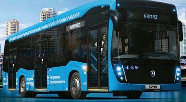 Kamaz unveils hydrogen fuel cell electric bus
