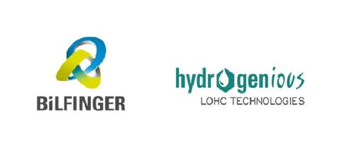Bilfinger, Hydrogenious partner for scaling technology