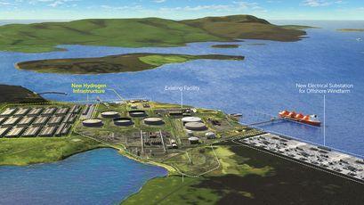 Consortium explores mega green hydrogen plant in Scotland