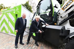 JCB invests £100 on hydrogen construction machines