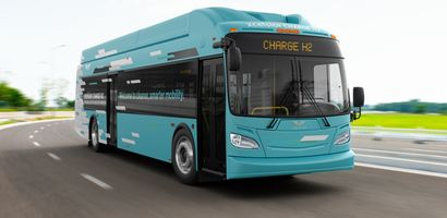 New Flyer to supply hydrogen buses to California's GET